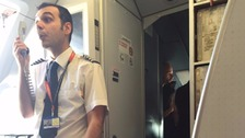 EasyJet flight delayed after crew argue over water bottles
