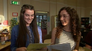 Girls out perform boys as students across the east open GCSE results