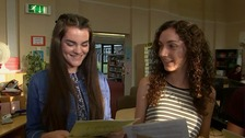 The waiting is over as students across east open GCSEs
