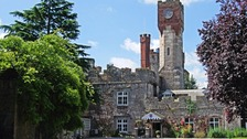 Ruthin Castle Clock tower