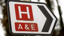 Children's A&E services suspended at County Hospital