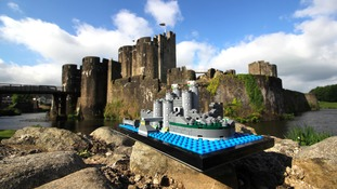How you can help Caerphilly Castle become an official LEGO set