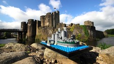 Caerphilly Castle replica could become official LEGO set