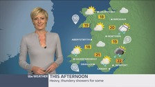 Wales weather: Outbreaks of showery rain, heavy and thundery at times
