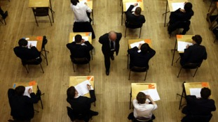 GCSE grades fall as girls outperform boys