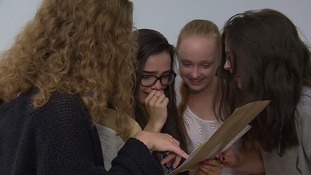 School reaction: GCSE results opened across the east