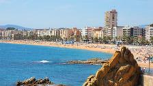 Lloret de Mar in Spain.