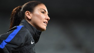USA goalkeeper Hope Solo suspended for calling Sweden 'cowards'