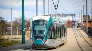 One year on: Nottingham tram lines