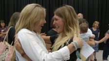 GCSE results day across the West Country