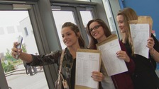 GCSE results day across the Midlands