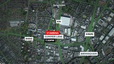 Murder investigation launched after city centre stabbing