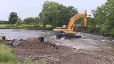 Weirs removed from Cumbrian rivers