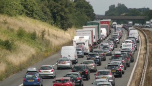 The bank holiday getaway: Twice the amount of traffic expected