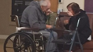 Couple married for 62 years forced to live separately because no nearby care homes are available