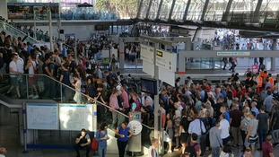 "Stratford station labelled a ""nightmare"" as West Ham fans cause severe overcrowding"