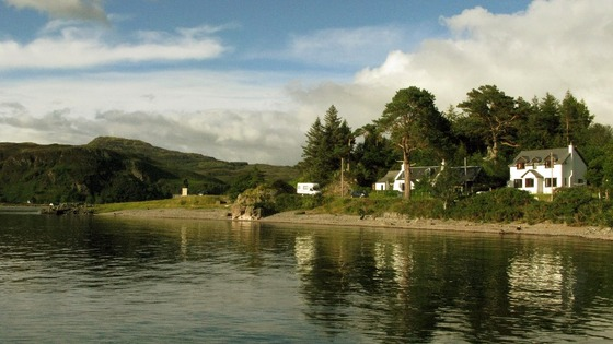 The village of Glenelg