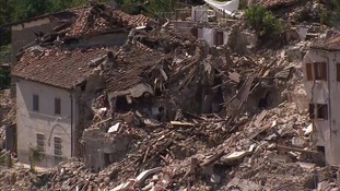 Three Britons killed in Italy earthquake