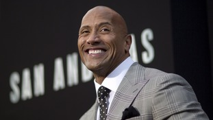 'The Rock' is rolling in it: Dwayne Johnson named world's best-paid actor after £49m year