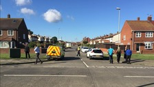 Bomb disposal experts in South Shields