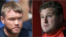 Grant McCann and Karl Robinson meet on Saturday