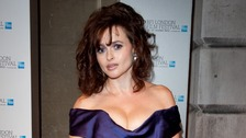 Helena Bonham-Carter attending the BFI London Film Festival Awards, at Banqueting House in London.