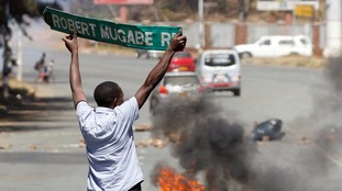 Anti-Mugabe protesters have become increasingly angry amid economic turmoil that has left cash shortages and high unemployment.