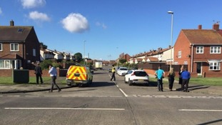 South Shields controlled explosion is not terrorism related