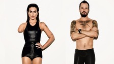 Actors Cleo Pires and Paulo Vilhena appeared in the campaign with digitally altered limbs