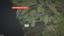 Four car crash on A591 near Low Wood Bay Hotel