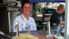 Lichfield Food Festival last year