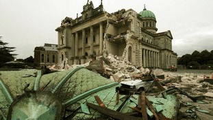 The Christchurch Catholic Cathedral was severely damaged in the 2011 quake