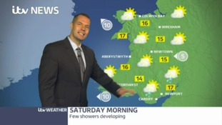 Wales weather: Sunny but rain on the way