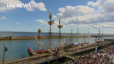 A sunny start to the Blyth Tall Ships Regatta