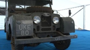 Sir Winston Churchill's Land Rover