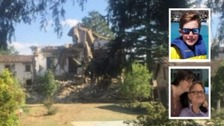 Tributes to three Brits killed in Italy earthquake