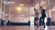 George North in training for new dance career?