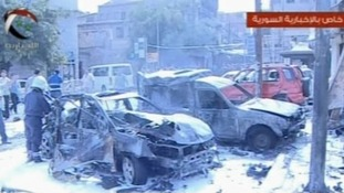 Damascus car bombing