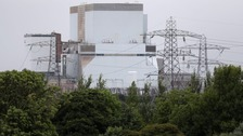 Hinkley Point B power station in Somerset