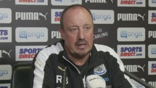 Rafa reflects on a week of transfers at Newcastle