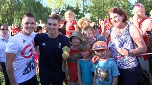 Max Whitlock returns to gym after double Olympic gold