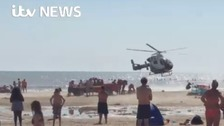 Lifeguards start patrols at Camber Sands after five deaths
