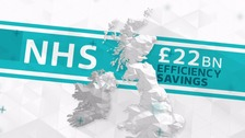 Hospitals to suffer as part of £22bn NHS cut backs