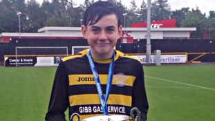 Boy, 13, dies after collapsing at football training session
