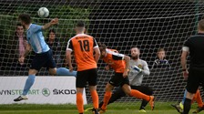 Ballymena beat Carrick Rangers on Friday night.