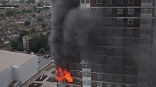 LFB tumble dryer warning after huge tower block blaze