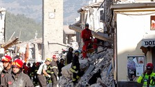 Italy holds day of national mourning for earthquake victims