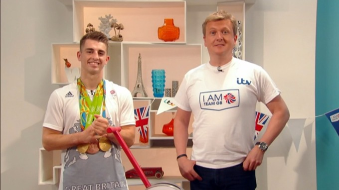 Matt Whitlock appeared alongside Aled Jones.