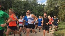 Residents in Cambridge have taken part in 5km the park run in Milton this morning