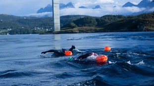 Brothers become first to swim world's biggest whirlpools